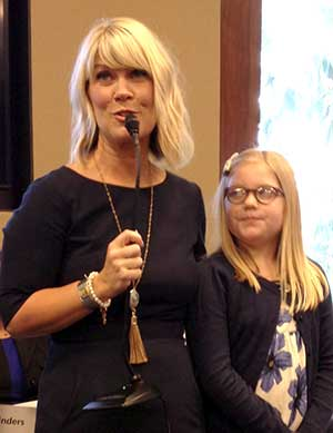 Natalie Grant and daughter Gracie