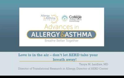Issues for Aspirin Exacerbated Respiratory Disease – AERD