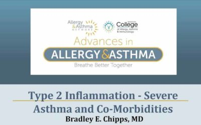 Type 2 Inflammation – Severe Asthma & Co-Morbidities