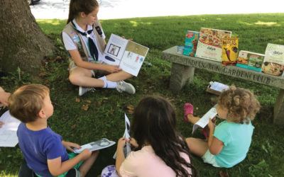 Girl Scout Authors Food Allergy Coloring Book