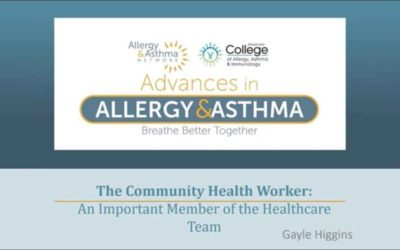 Role of Community Health Worker for Patients with Asthma