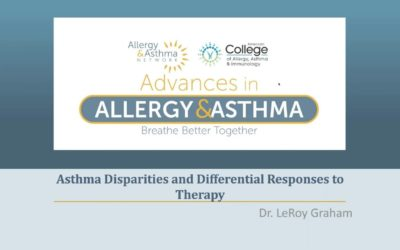 Health Disparities, Asthma and Differential Responses to Therapy
