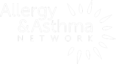 Allergy and Asthma Network Logo in White