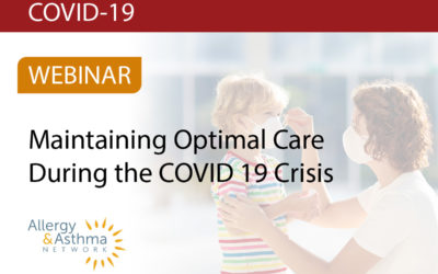 Maintaining Optimal Care for Asthma During the COVID-19 Crisis (Recording & Resources)