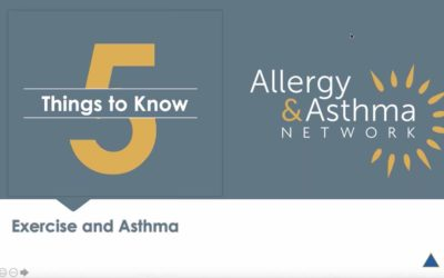 5 Things to Know about Exercise and Asthma (Recording & Resources)