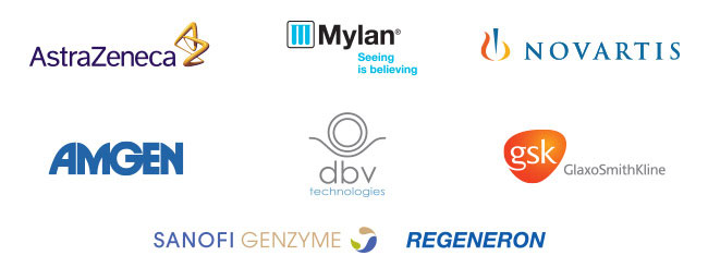 Various sponsor logos for AADCH day
