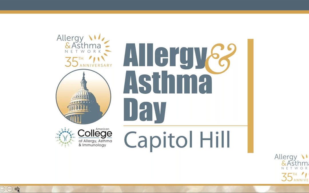 Allergy & Asthma Day Capitol Hill Overview