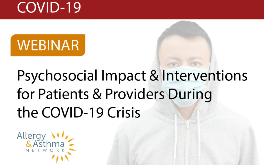 Psychosocial Impact During the COVID-19 Crisis (Recording & Resources)