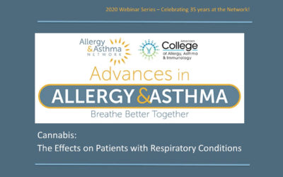 Effects of Cannabis (Marijuana) on Asthma & Other Respiratory Conditions (Recording & Resources)