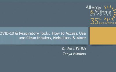 COVID-19 & Respiratory Tools:  How to Access, Use and Clean Inhalers, Nebulizers & More (Recording)