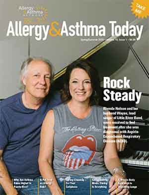 photo of the cover of Allergy & Asthma Today Spring/Summer Issue