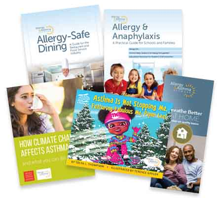 Photo of other publications by Allergy & Asthma Network
