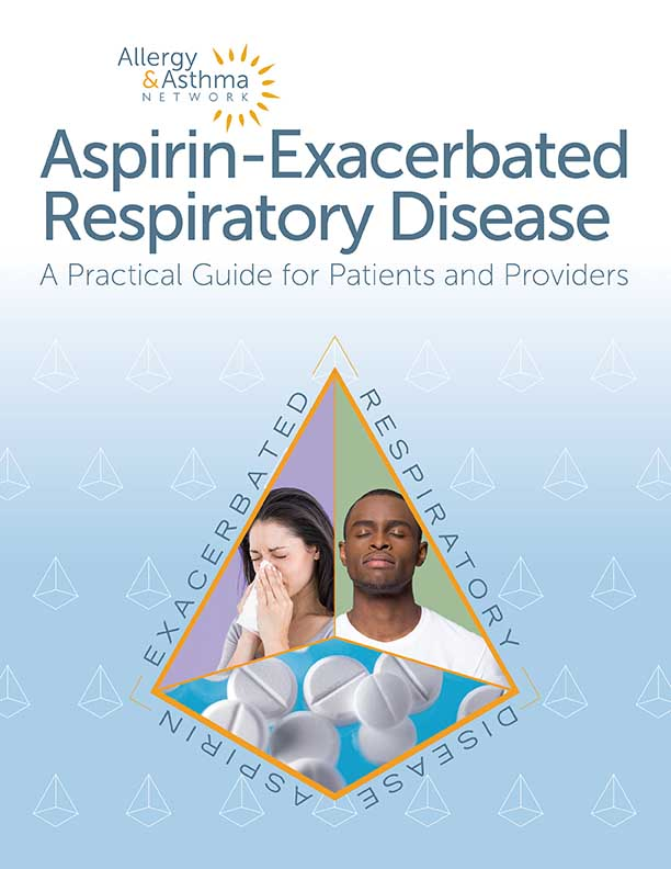 Photo of the AERD Guide cover