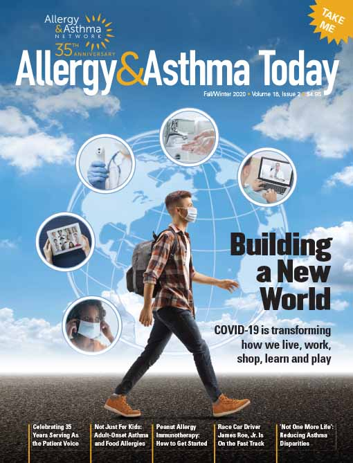 Photo of Allergy & Asthma Today magazine cover