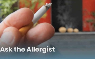 Ask the Allergist: Secondhand Smoking and Vaping – Risky Business for People with Asthma