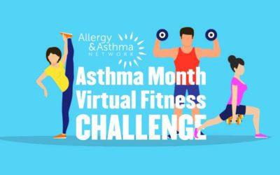 Asthma Awareness Month Virtual Fitness Challenge 2021