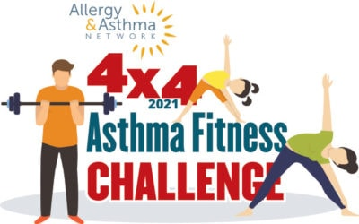 Ready, Set, Register … For the July 4×4 Asthma Fitness Challenge 2021!