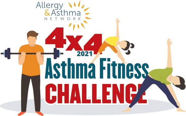 uly 4 2021 Asthma Fitness Challenge Logo