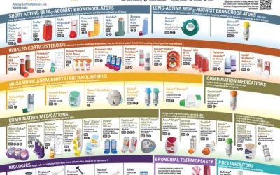 Respiratory Inhalers-at-a-Glance and Other Posters in Our Online Store